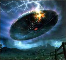 1947-Roswell-UFO-crash-lightning