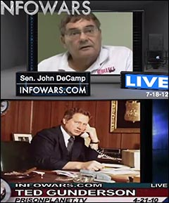 senator-john-decamp-fbi-ted-gunderson-alex-jones-show-infowars-guests