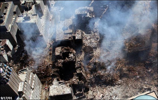 911-wtc-smoke-rubble-ground-zero-thermate