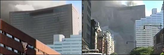 WTC7-911-two-collapses-different-sound