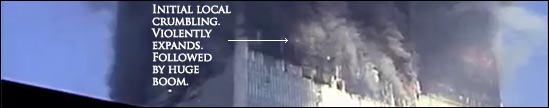 911-initial-crumbling-south tower
