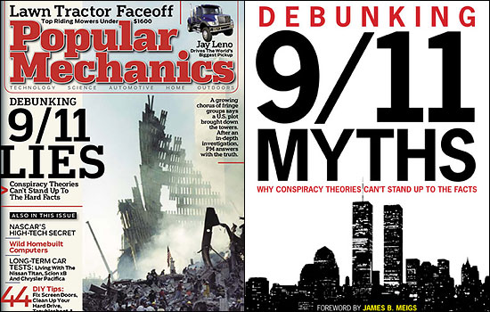Popular Mechanics attacking 9/11 ''Truth''