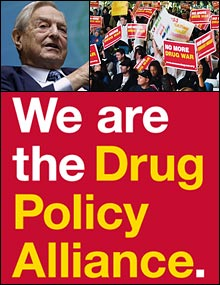 George Soros, his Drug Policy Alliance, and the War on Drugs