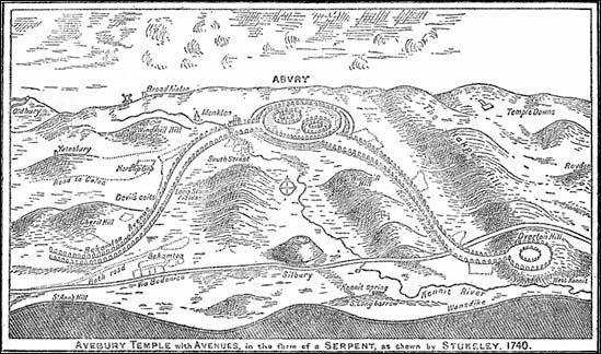 Avebury serpent stukely