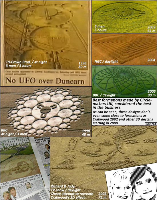 Circlemakers hoaxed crop circles