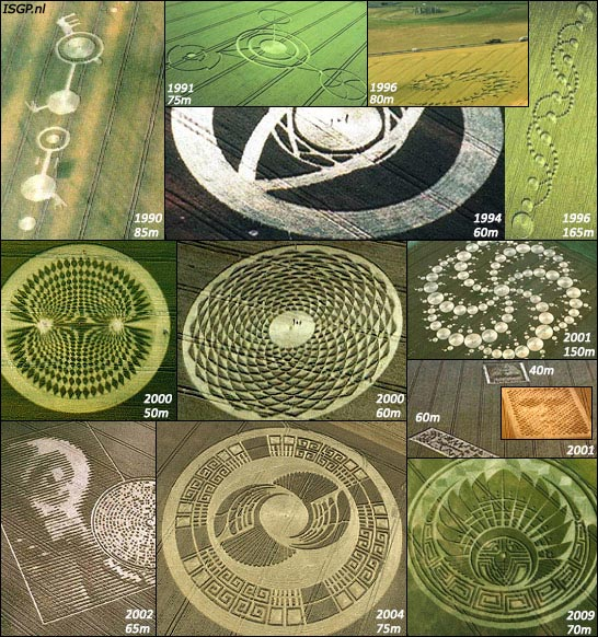 crop circles major formations evolution