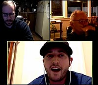 Titus Frost, Dean Fougere, Jan Irvin, Gnostic Media podcast.