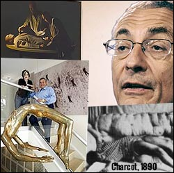 Pizzagate-related art of Tony Podesta and John Podesta: Archi of Hysteria and cannibal painting.