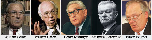 edwin-feulner-and-william-colby-and-william-casey-and-henry-kissinger-at-le-cercle-pinay